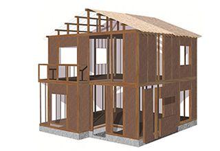木軸壁パネル工法