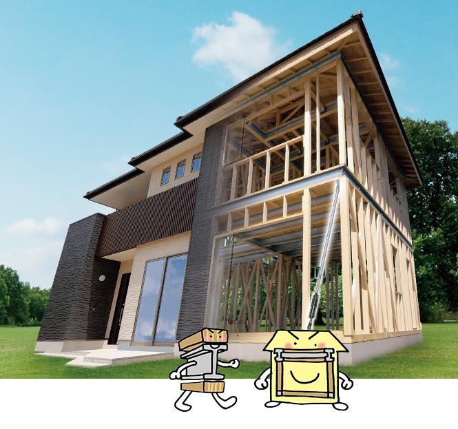 エナ・ホームは、パナソニックの所定の審査と施工研修をパスしたテクノストラクチャーの施工認定店です